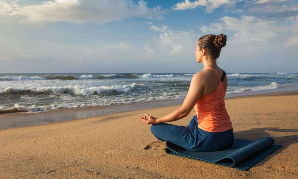 You may have assumed that yoga helps relieve nausea