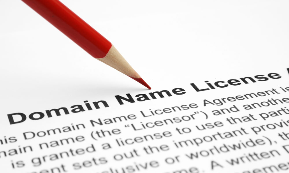 Need to register your domain name