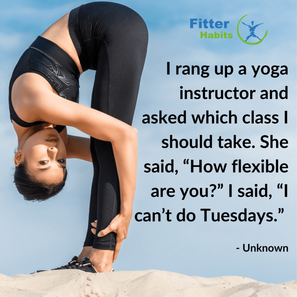 funny yoga quotes