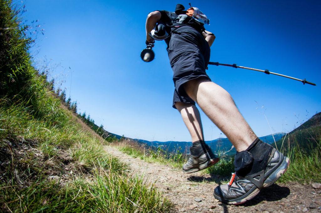 trail vs road running