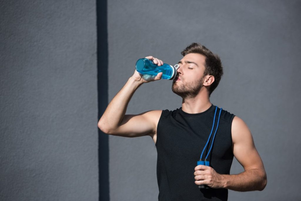 Hydrate yourself when running after a night of drinking