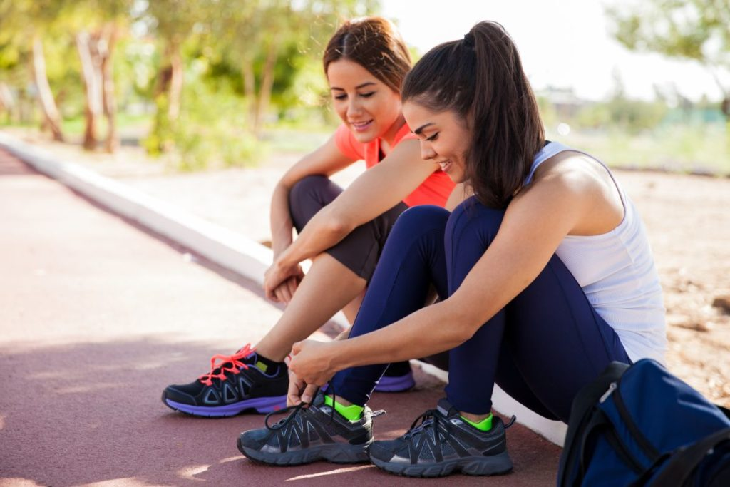 How to tie your shoes for running
