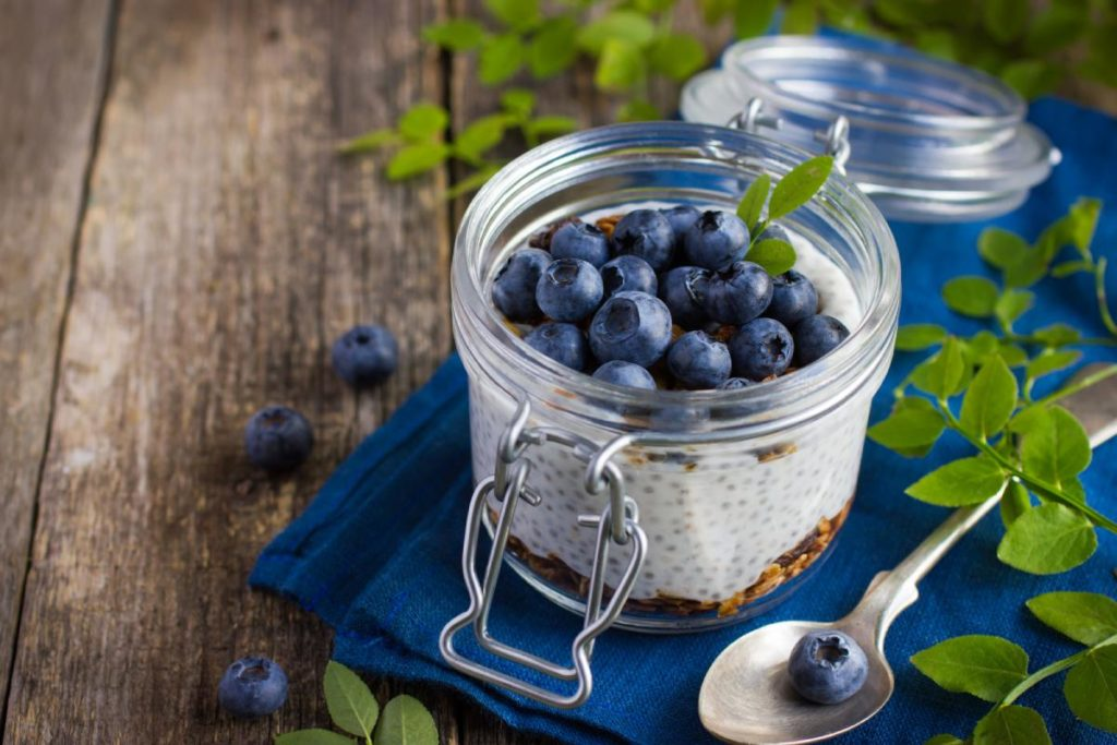 Alternatives to energy gels for running: Chia Seeds