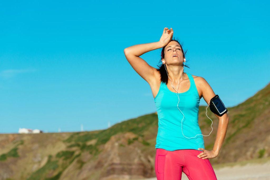 Why do I get a headache after running?