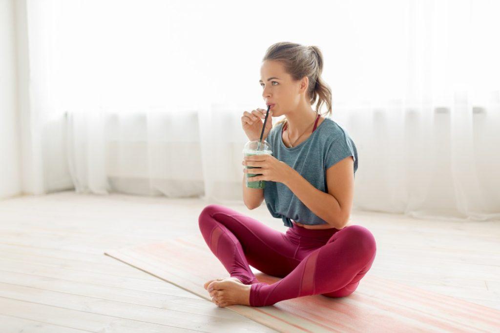 Post-yoga smoothie