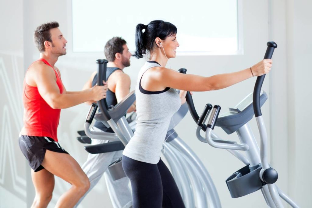 Alternatives to running for cardio: Elliptical machine