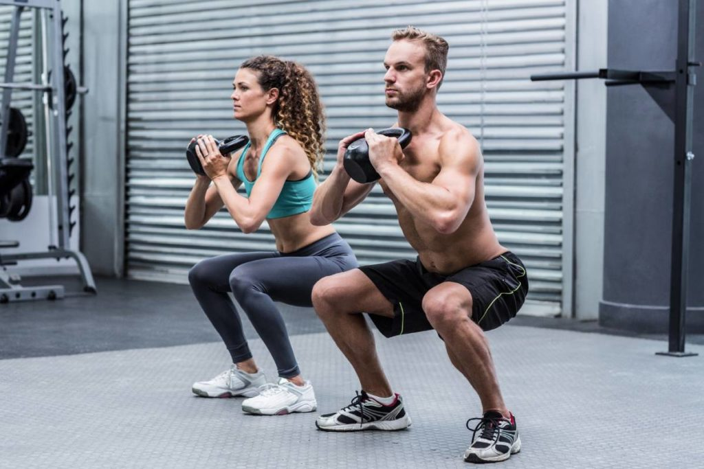 Alternatives to running for cardio: Kettlebell circuits