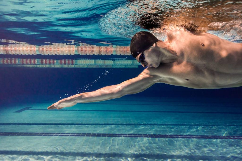 Alternatives to running for cardio: Swimming